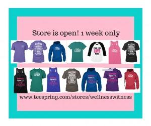 Store is open! 1 week onl2y